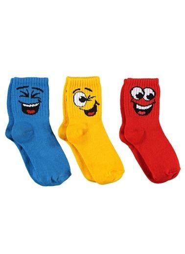 Civil Boys Erkek Çocuk 3'Lü Çorap Set 2-12 Yaş Turkuaz Erkek Çocuk 3'Lü Çorap Set 2-12 Yaş Turkuaz Turkuaz